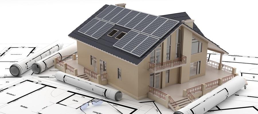 construction de maison moderne individuelle