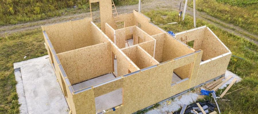 Construction de bâtiments démontables