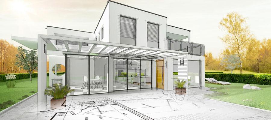 Construction de maison moderne dans le 4