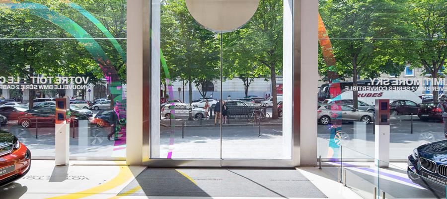 portes piétonnes automatiques met groupe automatisme